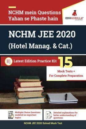 EduGorilla NCHM JEE 2020 (Hotel Manag. & Cat.)
