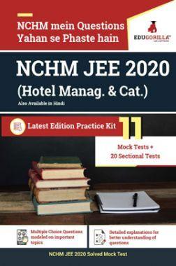 EduGorilla NCHM JEE 2020 (Hotel Manag. & Cat.) (Hindi)