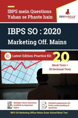 EduGorilla IBPS SO : 2020 Marketing Off. Mains