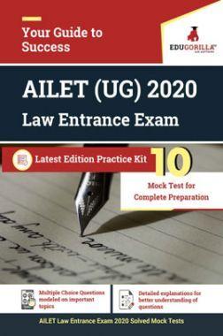 EduGorilla AILET (UG) 2020 Law Entrance Exam Latest Edition Practice Kit