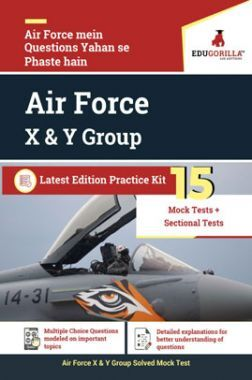 EduGorilla Air Force X & Y Group Latest Edition Practice Kit
