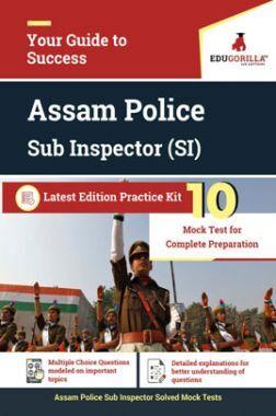 EduGorilla Assam Police Sub Inspector (SI) Latest Edition Practice Kit