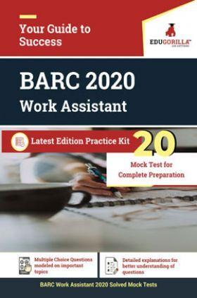 EduGorilla BARC 2020 Work Assistant Latest Edition Practice Kit