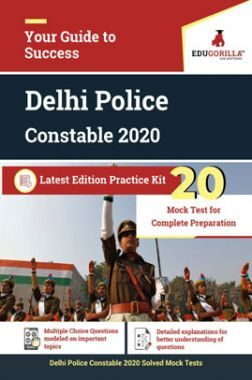 EduGorilla Delhi Police Constable 2020 Latest Edition Practice Kit