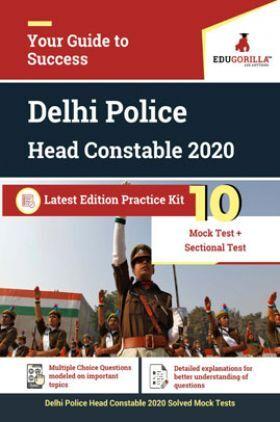 EduGorilla Delhi Police Head Constable 2020 Latest Edition Practice Kit