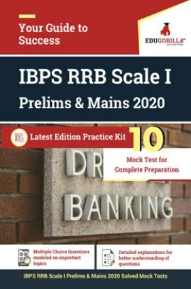 EduGorilla IBPS RRB Scale I Prelims & Mains 2020 Latest Edition Practice Kit