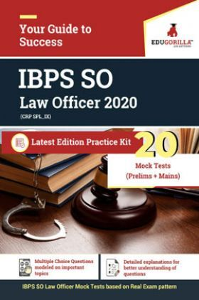 EduGorilla IBPS SO Law Officer 2020 Latest Edition Practice Kit