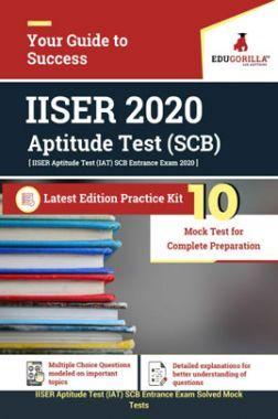 EduGorilla IISER 2020 Aptitude Test (SCB) Latest Edition Practice Kit