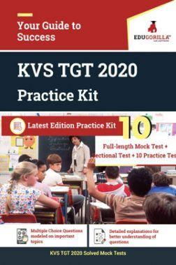 EduGorilla KVS TGT 2020 Practice Kit Latest Edition Practice Kit