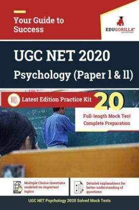 EduGorilla UGC NET 2020 Psychology (Paper l & ll) Latest Edition Practice Kit