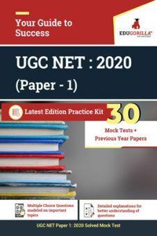 EduGorilla UGC NET : 2020 (Paper - 1) Latest Edition Practice Kit