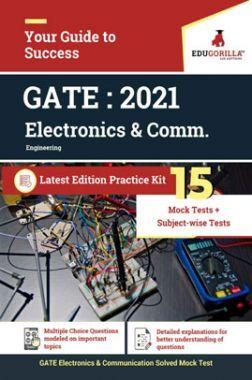 EduGorilla GATE : 2021 Electronics & Comm. Latest Edition Practice kit