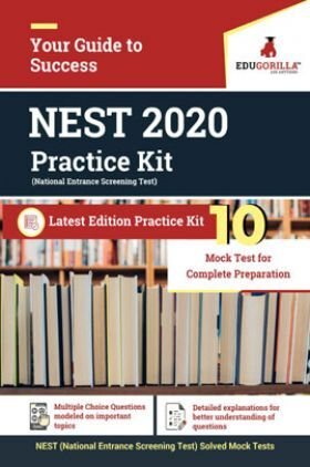 EduGorilla NEST 2020 Practice Kit Latest Edition Practice kit