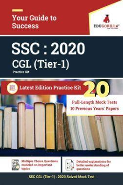 EduGorilla SSC : 2020 CGL (Tier-1) Latest Edition Practice kit