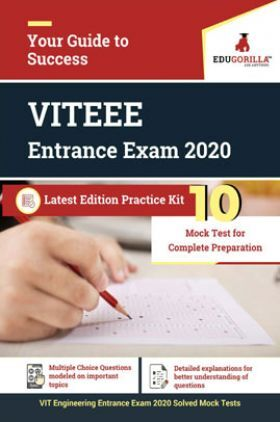 EduGorilla VITEEE Entrance Exam 2020 Latest Edition Practice kit