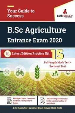 EduGorillaB.Sc Agriculture Entrance Exam 2020 Latest Edition Practice kit