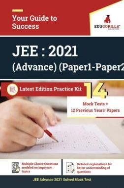 EduGorilla JEE Advance 2021 | 14 Mock Test + Previous Years' Papers + Practice Test For JEE Advance