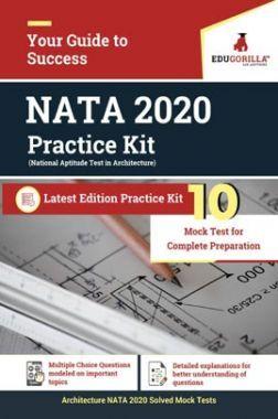 EduGorilla Architecture NATA : 2020   10 Mock Test For Complete Preparation