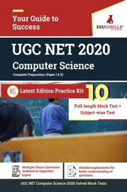 EduGorilla UGC NET Computer Science 2020   10 Full-Length Mock Test + Subject-wise Test (Paper l & ll)