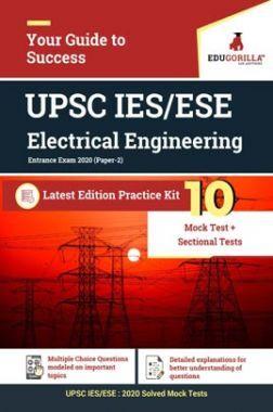 EduGorilla UPSC IES/ESE- Electrical Engineering Entrance Exam 2020 | 10 Mock Test