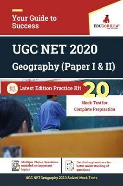 EduGorilla UGC NET Geography 2020 | 20 Mock Test For (Paper I & II) (English)