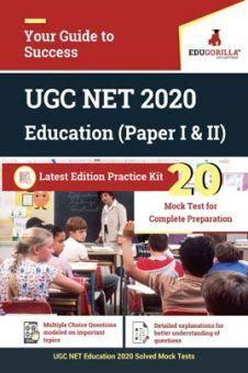 EduGorilla UGC NET Education 2020   20 Full-Length Mock Test For (Paper I & II)