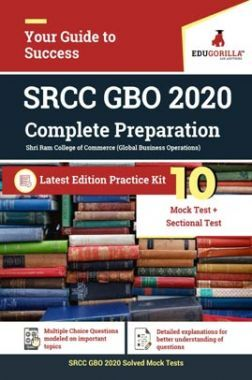 EduGorilla SRCC Global Business Operations (GBO) | 10 Mock Test + Sectional Test + Previous Year Paper (2019)