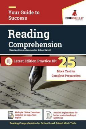 EduGorilla Reading Comprehension For School Level   25 Practice Tests