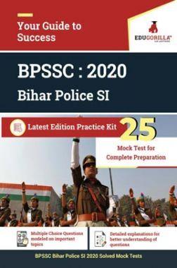 EduGorilla BPSSC Bihar Police SI  2020   25 Mock Test