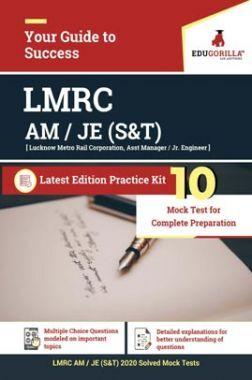 EduGorilla LMRC Recruitment JUNIOR ENGINEER (S&T) | 10 Mock Test