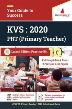 EduGorilla KVS PRT (Primary Teacher) 2020 | 5 Full-Length Mock Test + 10 Practice Test