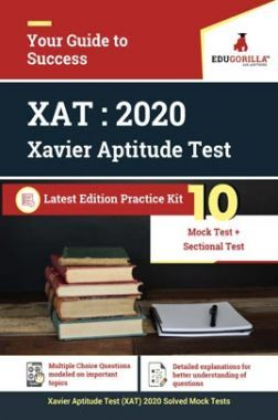 EduGorilla XAT (Xavier Aptitude Test) 2020 | 10 Mock Test + Sectional Test