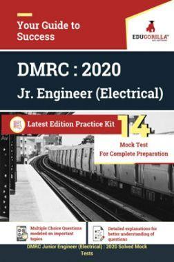 EduGorilla DMRC Junior Engineer (JE) Electrical 2020 - 14 Mock Test - Latest Edition Practice Kit