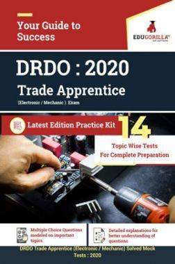 EduGorilla DRDO  Trade Apprentice (Electronic / Mechanic) - 2020 - 14 Topicwise Tests