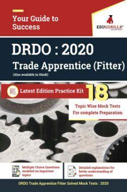 EduGorilla DRDO  Trade Apprentice (Fitter) - 2020 - 18 Topicwise Tests