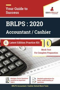 EduGorilla BRLPS Accoutant/Cashier - 2020 - 10 Mock Test