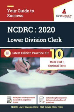 EduGorilla NCDRC - LDC - 2020 - 10 Mock Test + Sectional Test