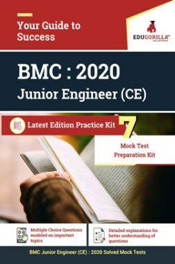 EduGorilla BMC Junior Engineer (CE) - 2020 - 7 Mock Test - Latest Edition Practice Kit
