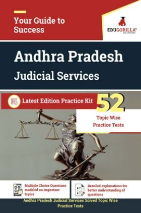 EduGorilla Andhra Pradesh Judicial Services 2020 - 52 Topic Wise Practice Test - Latest Edition Practice Kit