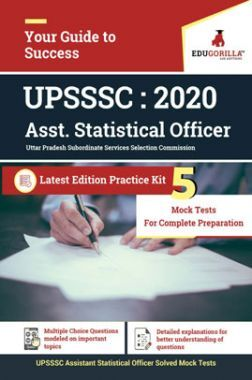 EduGorilla UPSSSC ASO 2020 - 5 Mock Test For Complete Solution