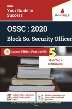 EduGorilla OSSC Block Social Security Officer - 2020 - 5 Mock Tests + Odisha GK
