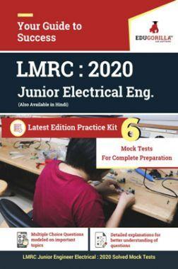 EduGorilla LMRC- 2020 - 6 Full Length Mock Test- Latest Edition Practice Kit