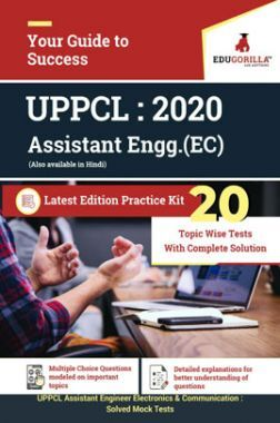 EduGorilla UPPCL AE (EC) Electronics & Communication 2020 -20Mock Test - Latest Edition Practice Kit