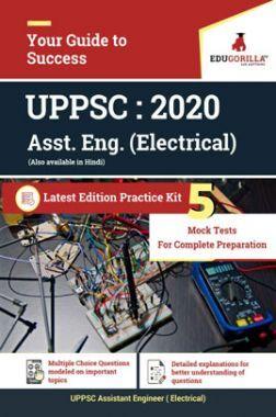 EduGorilla UPPSC Assistant Engineer (Electrical) 2020 - 5 Full Length Mock Test - Latest Edition Practice Kit