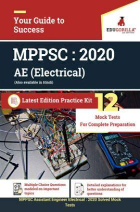 EduGorilla MPPSC Assisatnt Engineer (Electrical) 2020 - 12 Mock Test - Latest Edition Practice Kit
