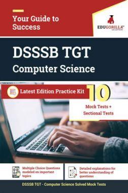 Edugorilla DSSSB TGT Computer Science 2020 | 10 Mock Test + Sectional Test For Complete Preparation