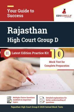 Edugorilla Rajasthan High Court Group D 2020   10 Mock Test For Complete Preparation