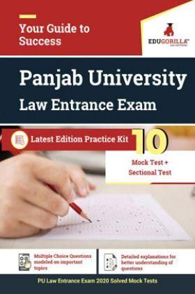 Edugorilla PU Law Entrance Exam 2020   10 Mock Test + Sectional Test