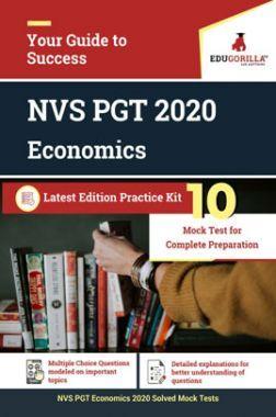Edugorilla NVS PGT Economics 2020   10 Mock Test For Complete Preparation