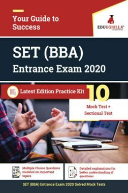 Edugorilla SET BBA Entrance Exam 2020 | 10 Mock Test + Sectional Test For Complete Preparation